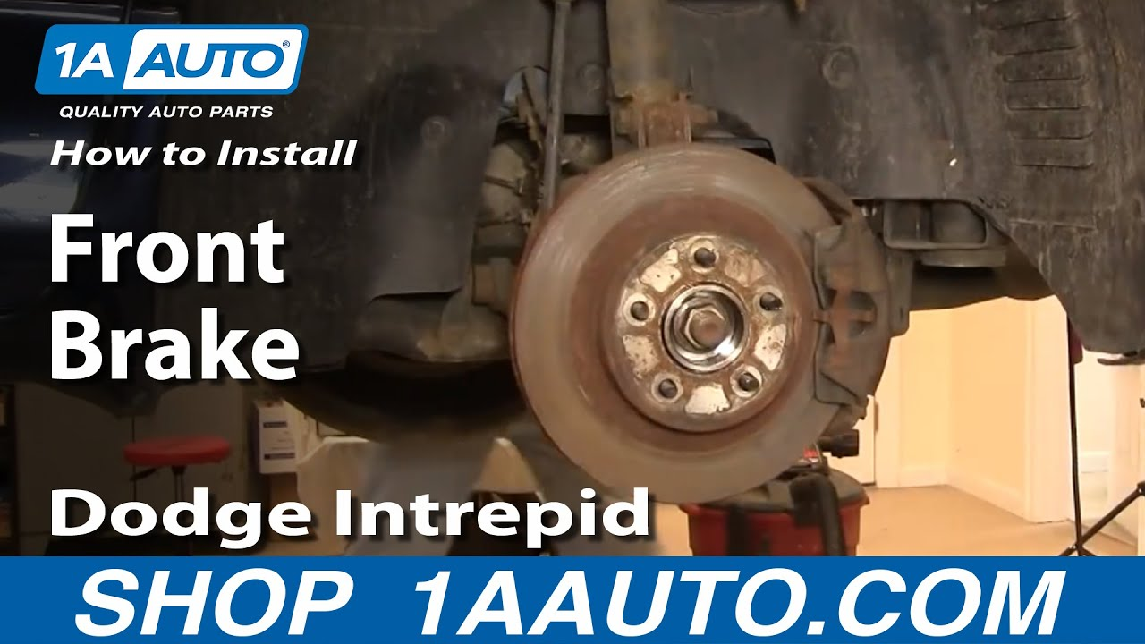 How To Replace Front Brakes 98-04 Dodge Intrepid