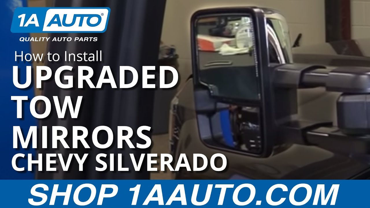 How To Install Upgraded Tow Mirrors 14 19 Chevy Silverado