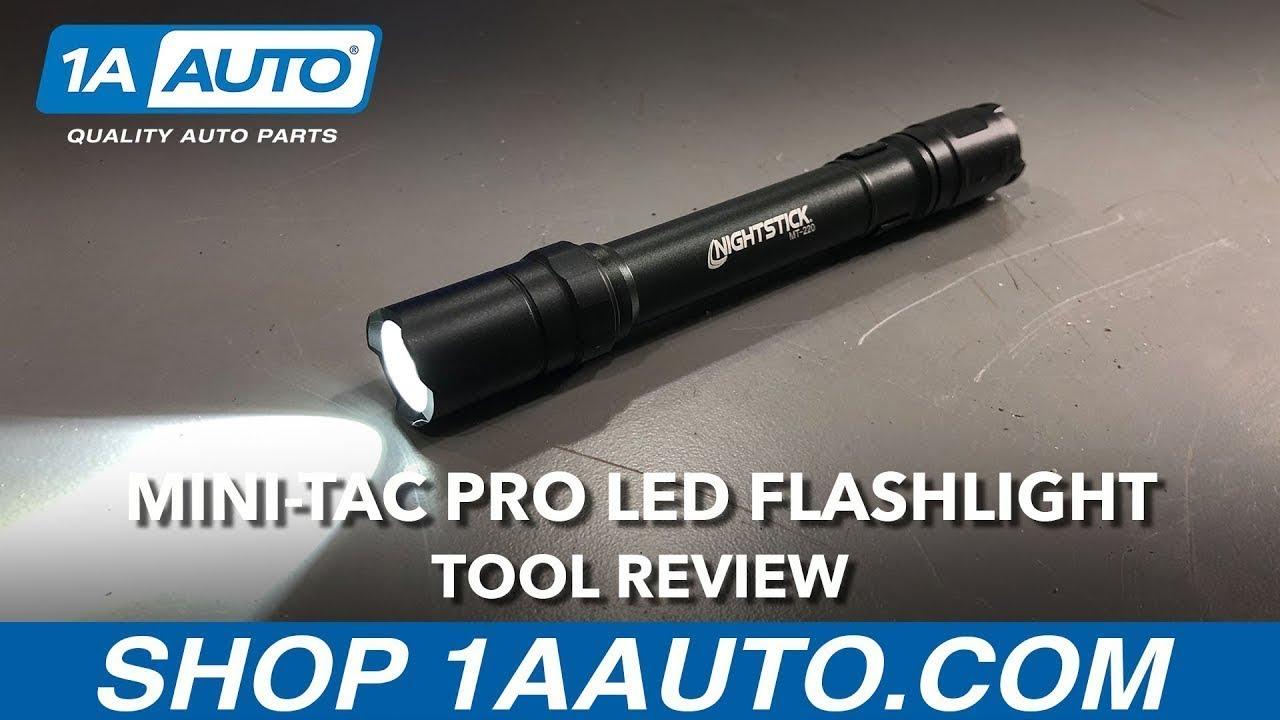 Mini TAC Pro LED Flashlight - Available on 1aauto.com