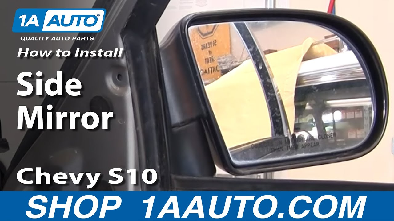 How to Replace Mirror 99-04 Chevy S10 Pickup | 1A Auto Outside Mirror Wiring Diagram Chevy Suburban on 1993 chevy suburban wiring diagram, 1994 chevy suburban wiring diagram, 1998 chevy suburban door, 2002 suburban stereo wiring diagram, 1998 chevy suburban fuel tank, 2000 chevy suburban wiring diagram, 1998 chevy suburban wheels, 1990 chevy suburban wiring diagram, 1992 chevy suburban wiring diagram, 1995 chevy suburban wiring diagram, 1998 chevy suburban water pump, 1999 chevy suburban wiring diagram, 1998 chevy suburban engine, 2002 chevy suburban wiring diagram, 1996 chevy suburban wiring diagram, 1989 chevy suburban wiring diagram, 1998 chevy suburban fuse identification, 1998 chevy suburban suspension, 1997 chevy suburban wiring diagram, 1998 chevy suburban oil pump,