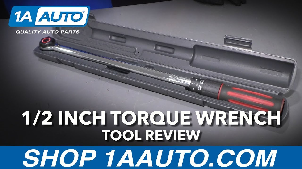 1/2 Inch Torque Wrench - Available at 1AAuto.com
