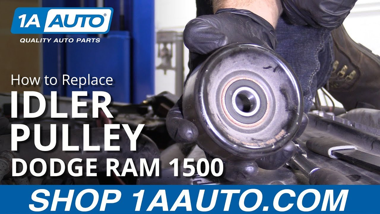 How to Replace Idler Pulley 94-02 Dodge Ram 1500