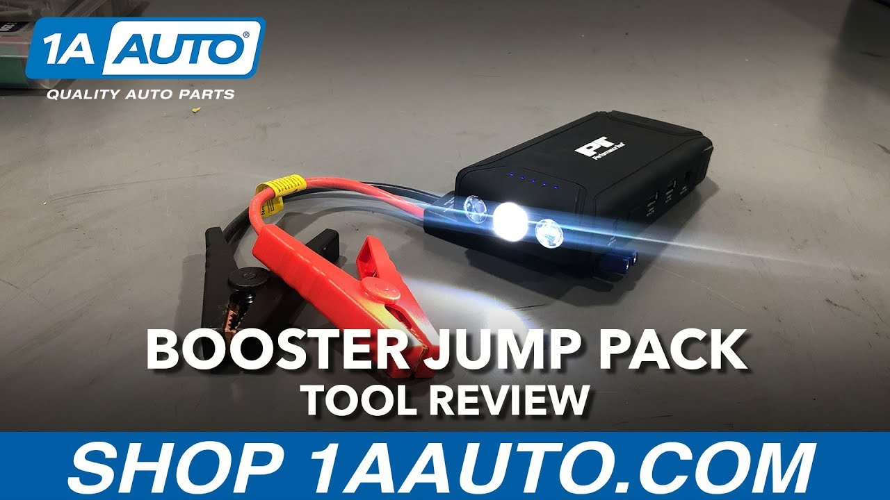 Booster Jump Pack - Available on 1aauto.com