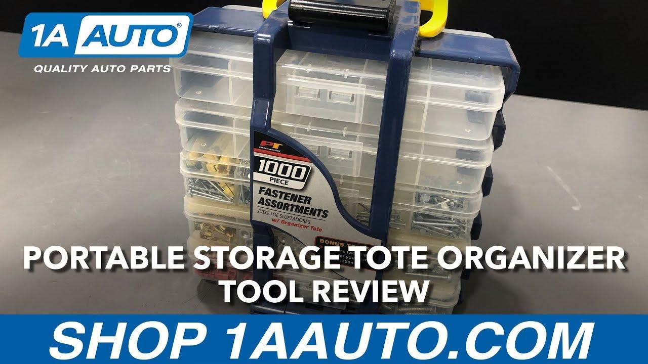 Portable Storage Tote Organizer