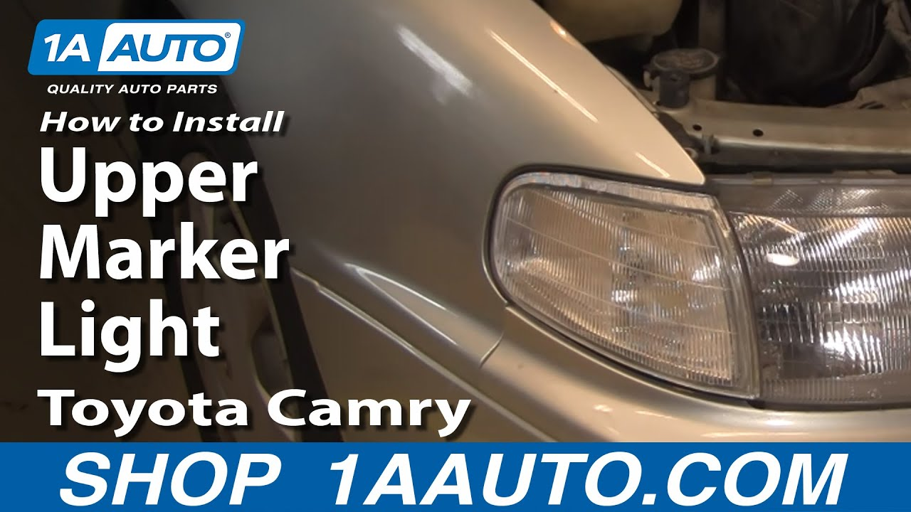 How to Replace Corner Light 92-94 Toyota Camry