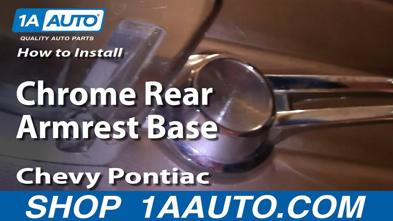 How to Replace Armrest Base 60-66 Pontiac Bonneville