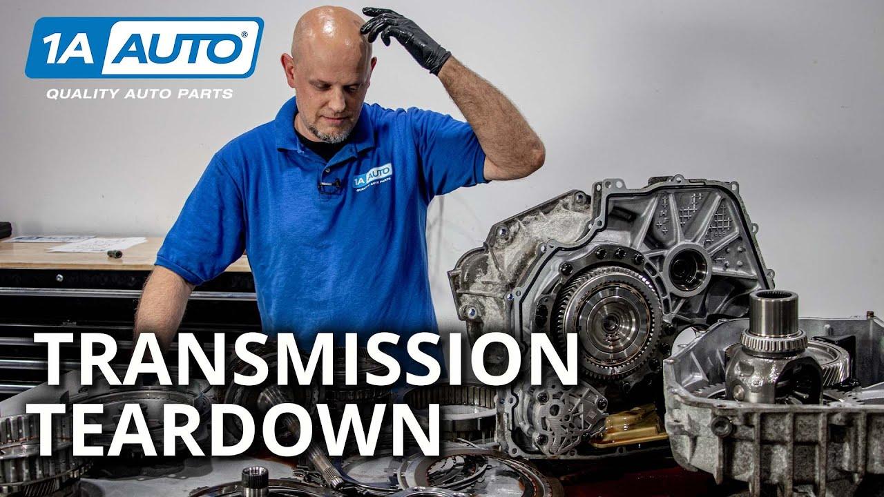 Transmission Teardown How Automatic Car  Truck Transmissions Work