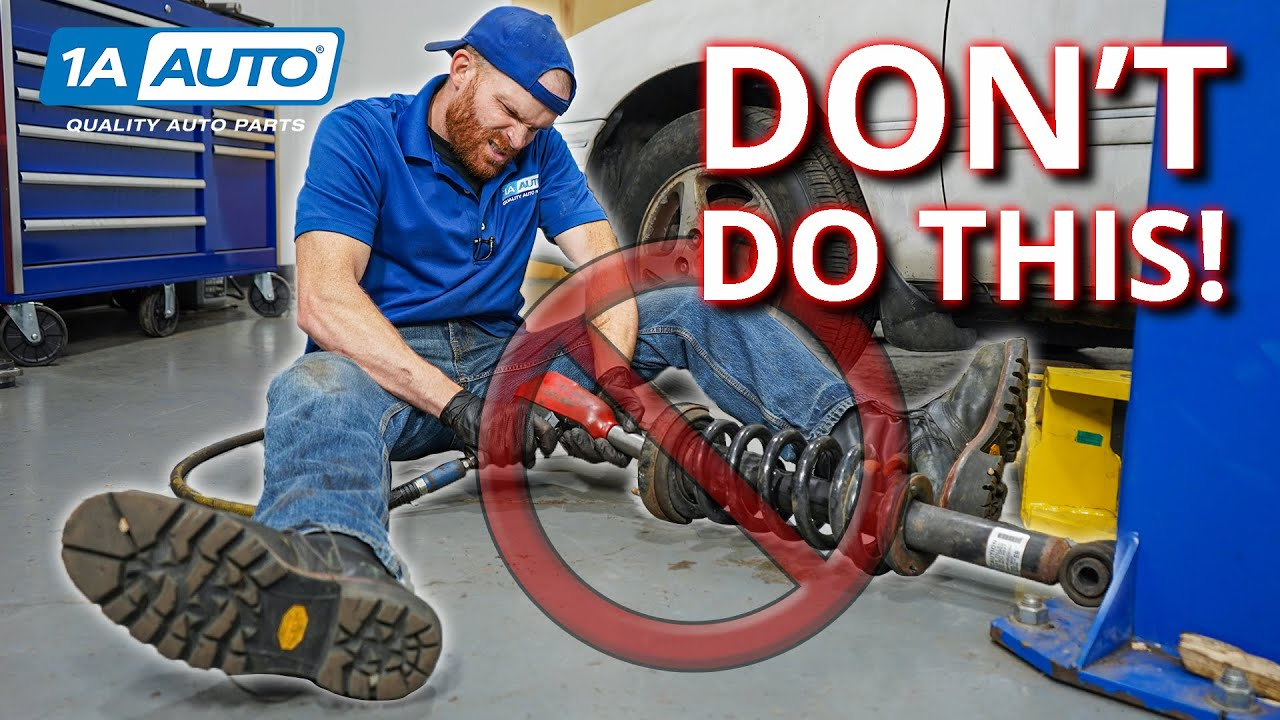 Most Common Strut Installation Mistakes