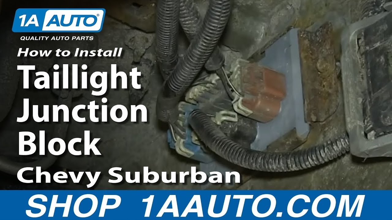 How to Replace Tail Light Combination Junction Block 02-06 ...