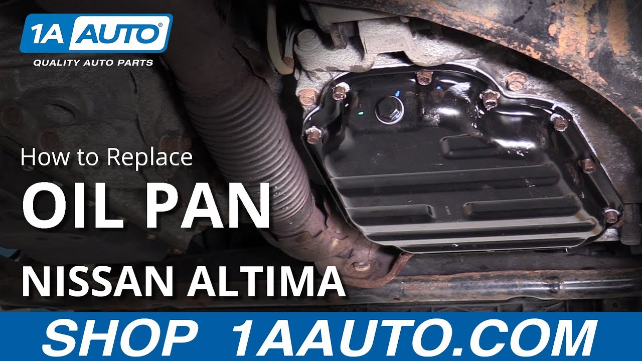 How to Replace Oil Pan 2006-2012 Nissan Altima