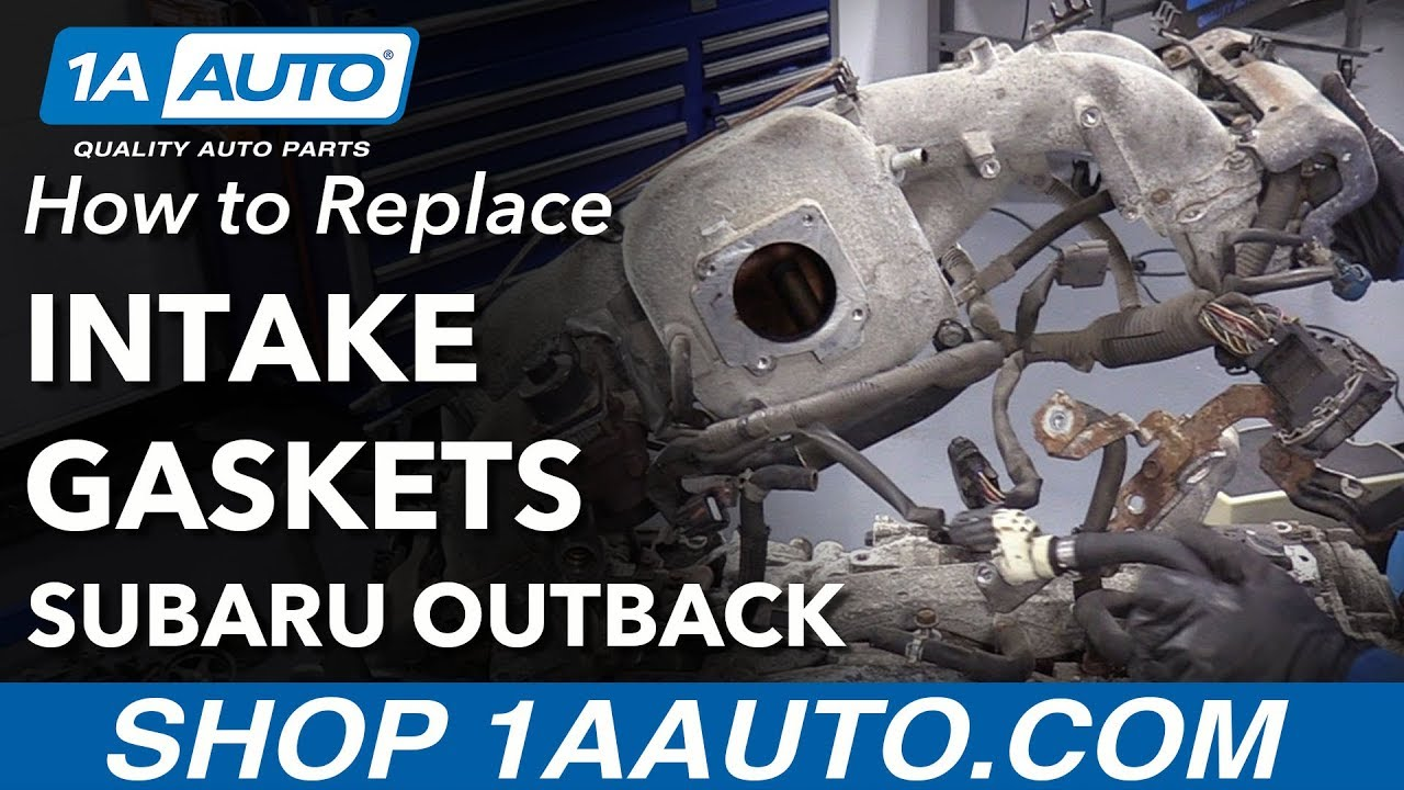 How to Replace Intake Gaskets 04-09 Subaru Outback