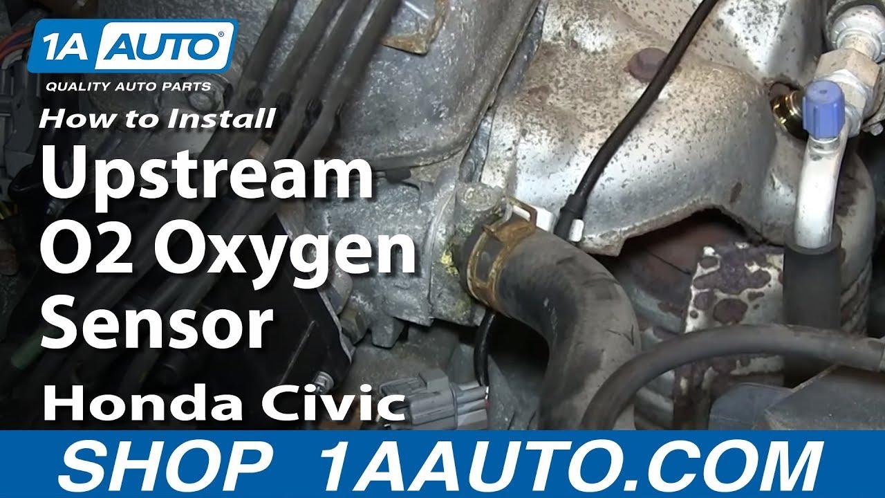 How to Replace O2 Oxygen Sensor 92-00 Honda Civic