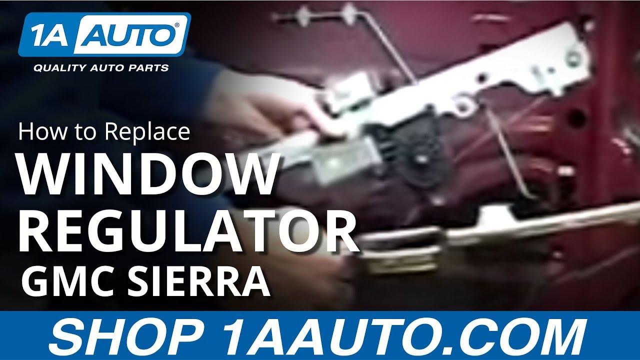 2005 chevy cavalier manual window regulator