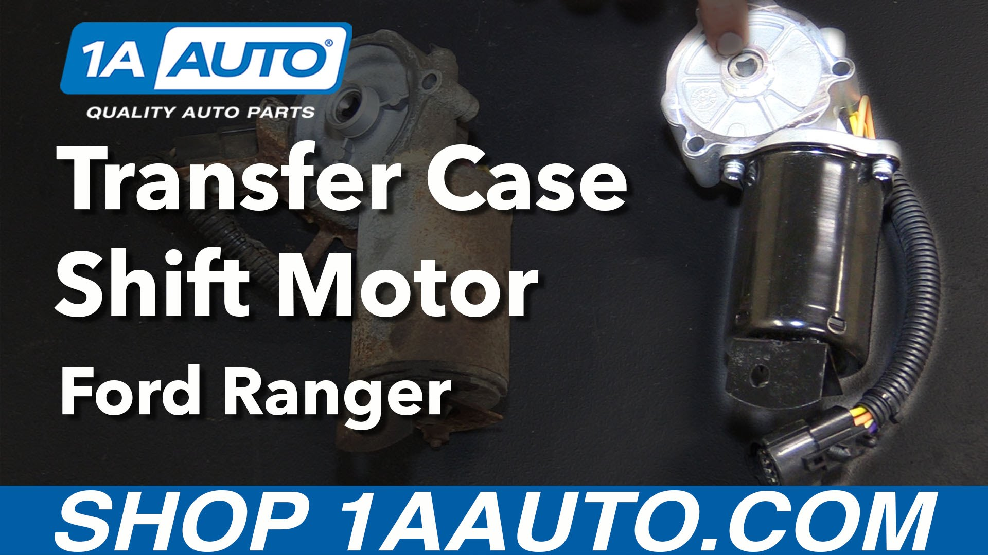How to Replace Transfer Case Shift Motor 98-12 Ford Ranger