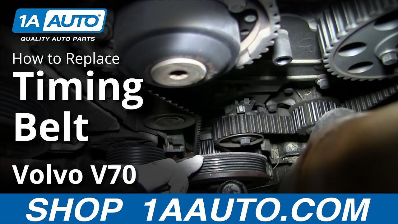 How to Replace Timing Belt 01-05 Volvo V70