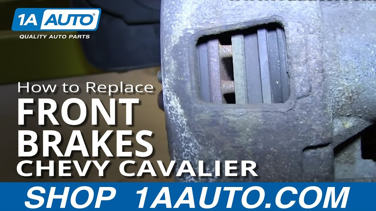 How To Replace Front Brakes 92-05 Chevy Cavalier