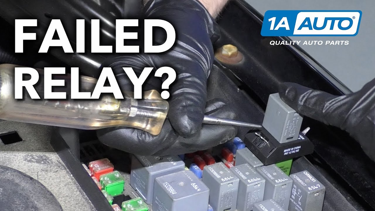 How to Diagnose a Failed Relay In Your Vehicle