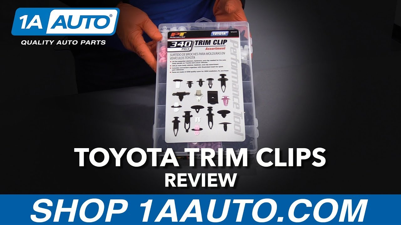 340pc Toyota Trim Clip Assortment - Available at 1AAuto.com