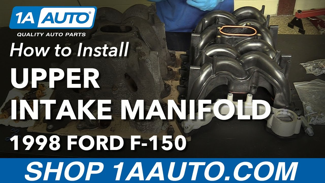 How to Replace Upper Intake Manifold 97-06 V8 4 6L Ford F-150