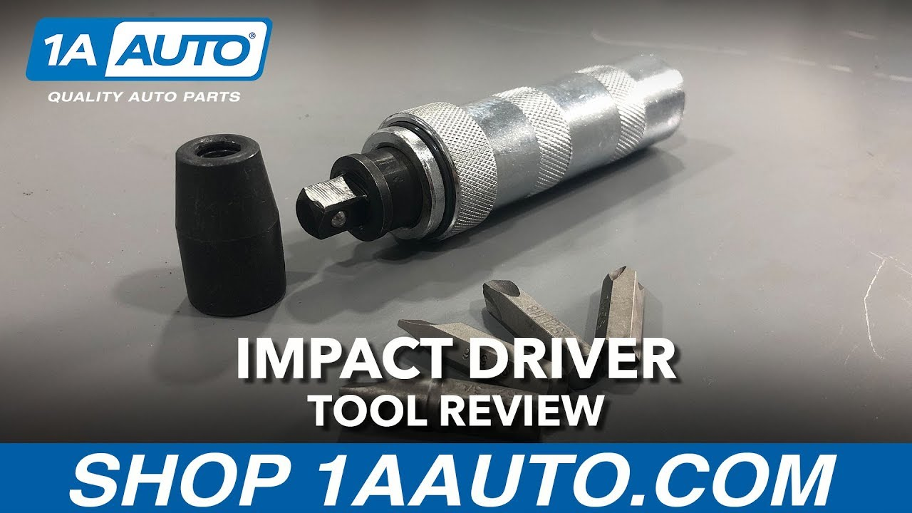 Impact Driver Available on 1aauto.com