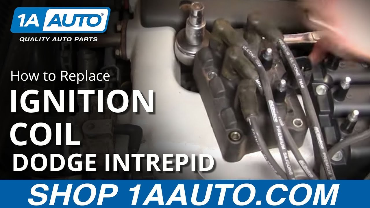 How to Replace Ignition Coil 93-97 Dodge Intrepid