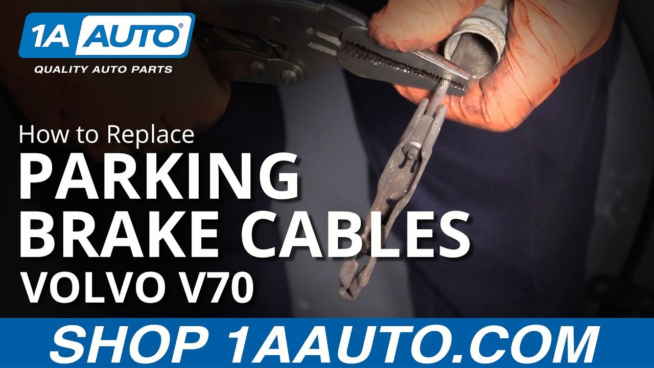 How to Replace Parking Brake Cables 00-07 Volvo V70