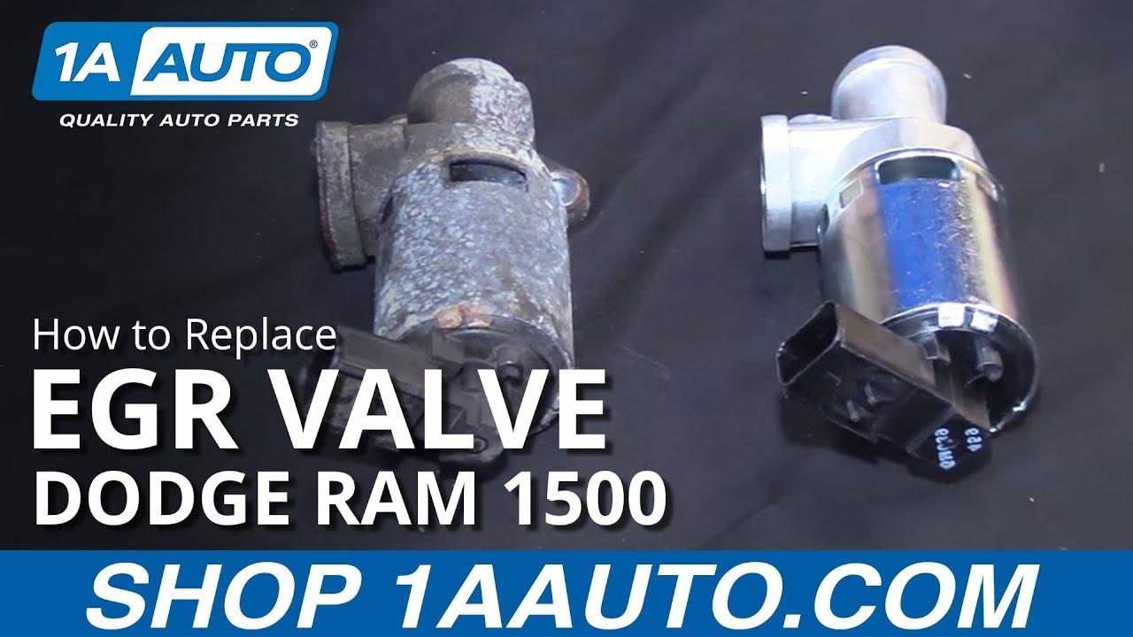 How to Replace EGR Valve 04-08 Dodge Ram 1500 V8 5.7L