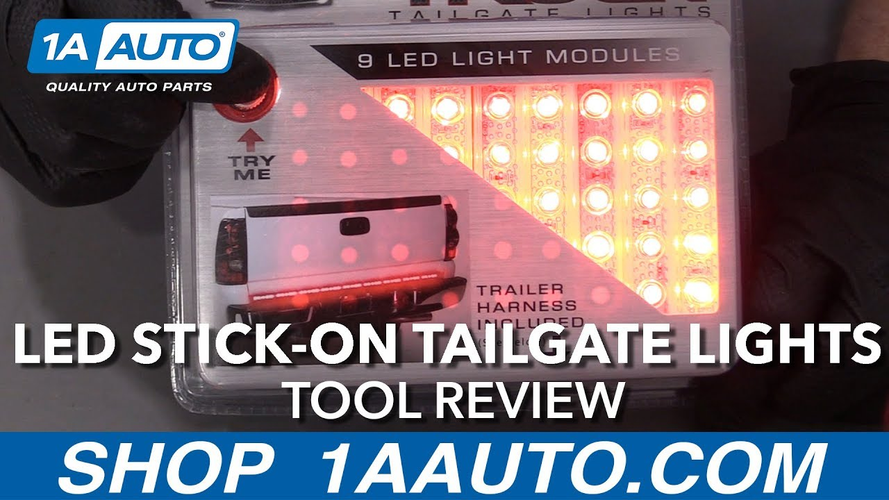 LED Stick On Tailgate Lights - Available at 1aauto.com