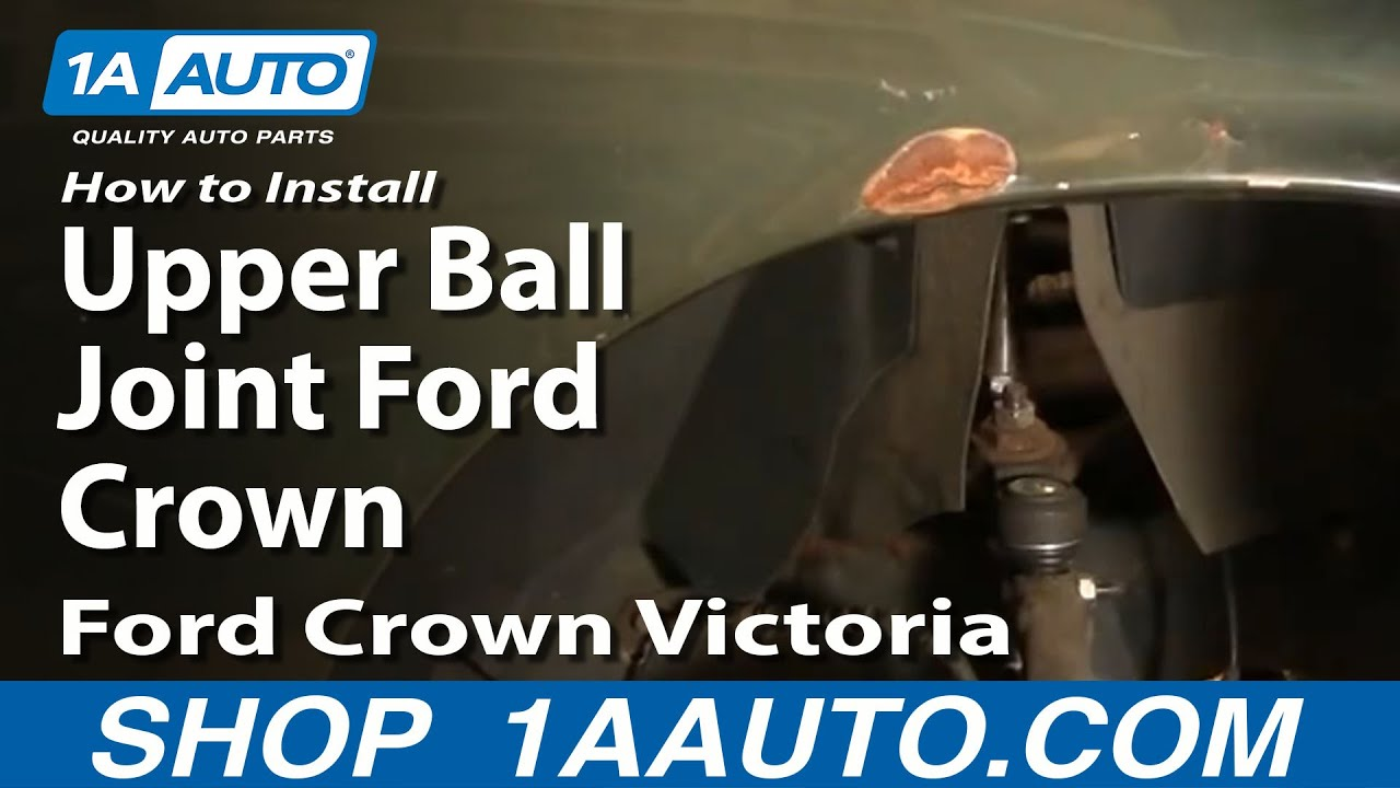 How to Replace Upper Ball Joint 95-02 Ford Crown Victoria