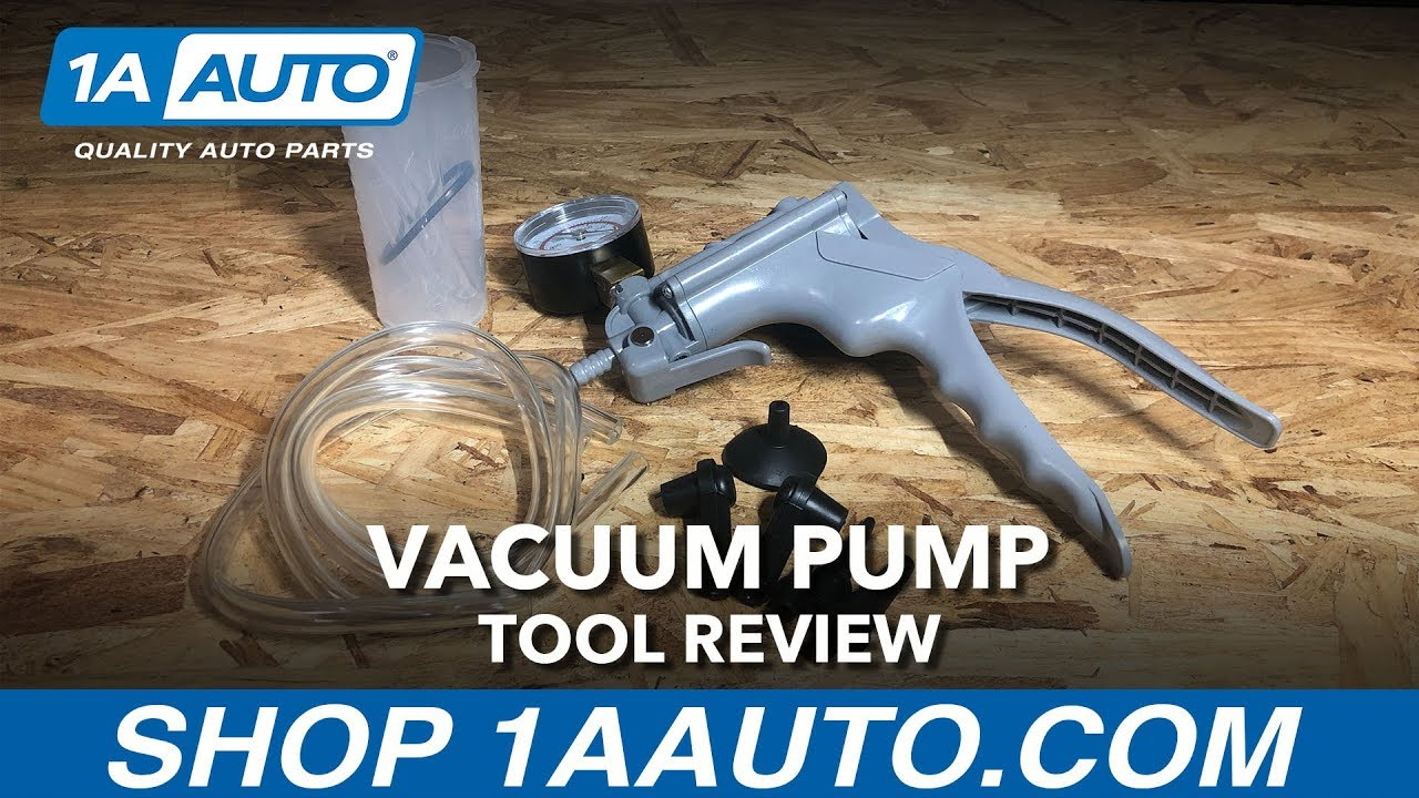 Vacuum Pump - Available on 1aauto.com