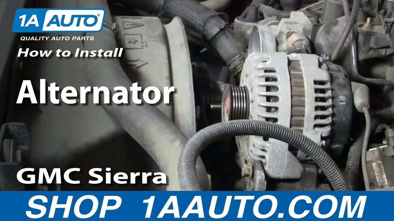 How to Replace Alternator 01-02 GMC Sierra 2500 HD