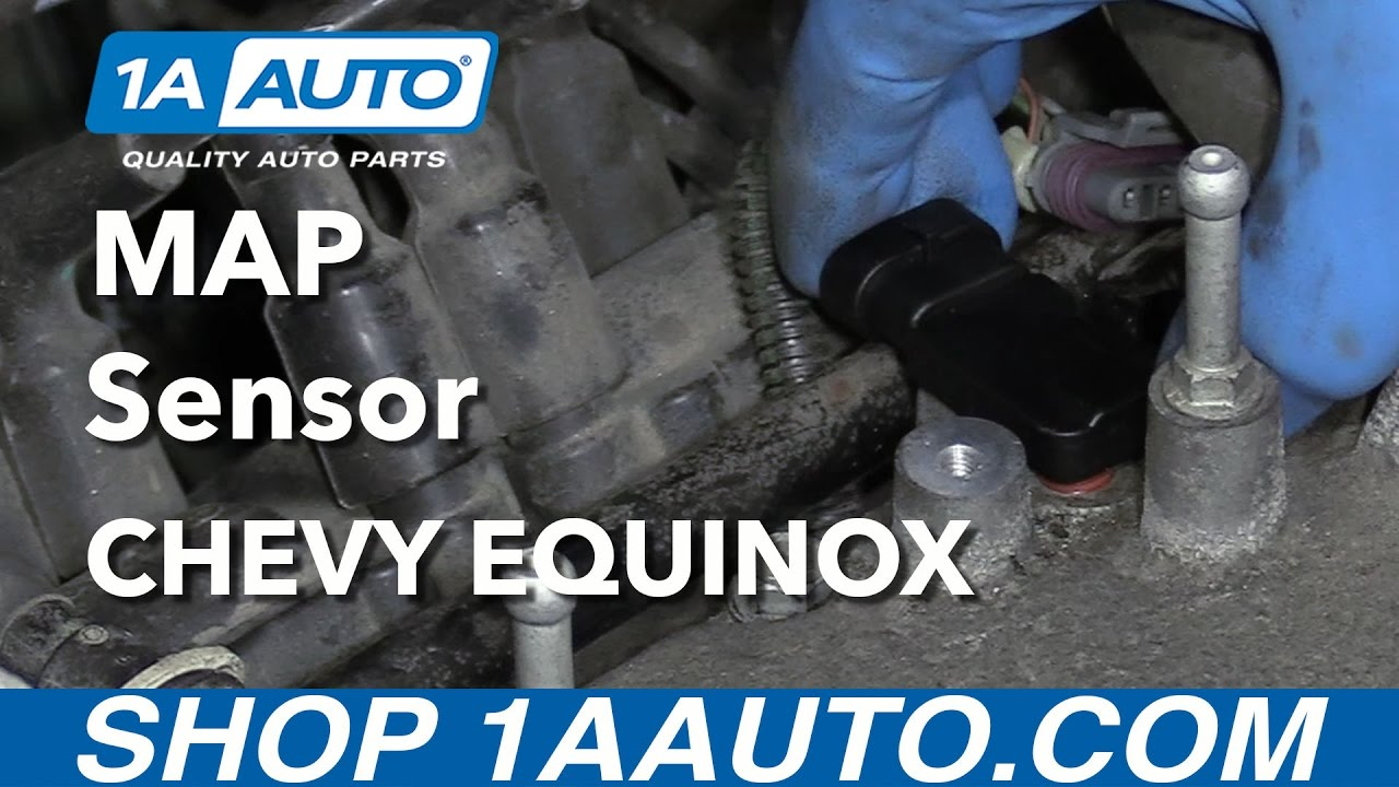 How To Replace Map Sensor 05