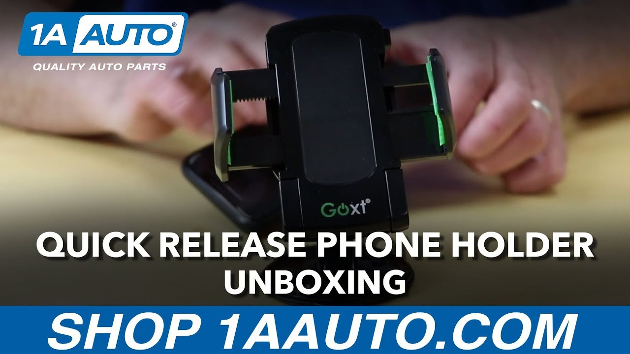 Quick Release Phone Holder - Unboxing