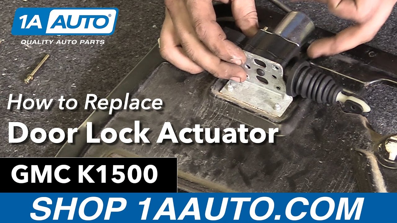2008 impala door lock actuator wiring diagram how to replace door lock actuator 88 00 gmc k1500 1a auto  door lock actuator 88 00 gmc k1500