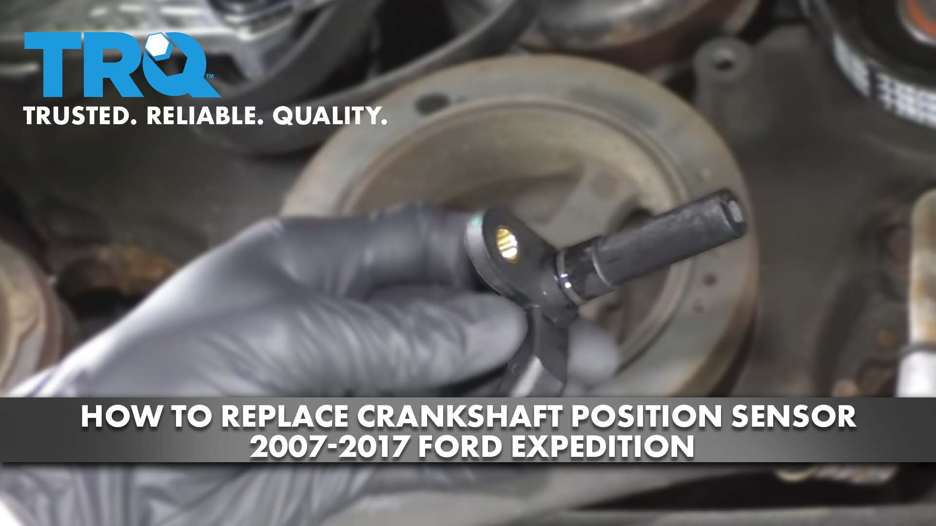How to Replace Crankshaft Position Sensor 2007-17 Ford Expedition