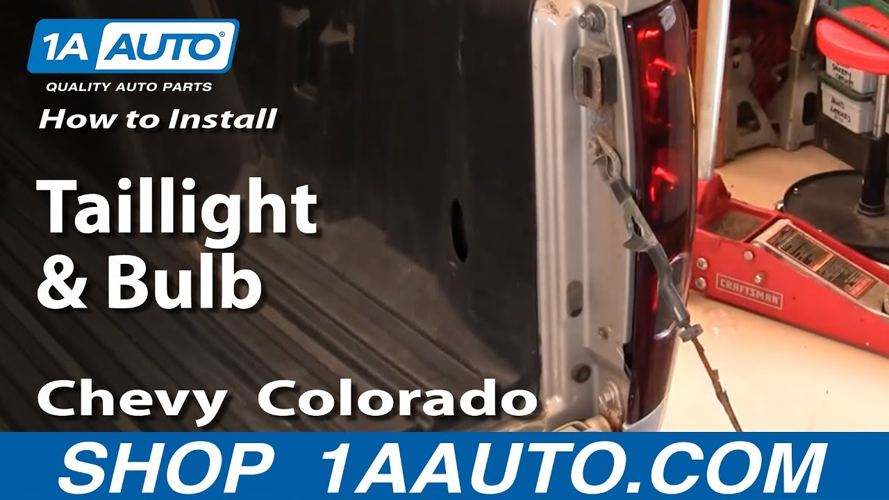 2005 Chevy Colorado Tail Light Wiring Harness | Wiring Diagram on