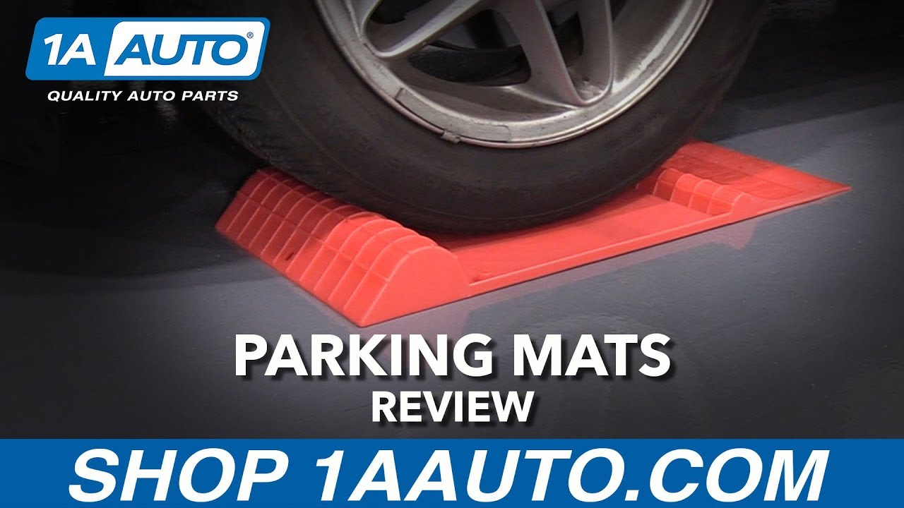 Park Right Plastic Parking Mat - Available at 1AAuto.com