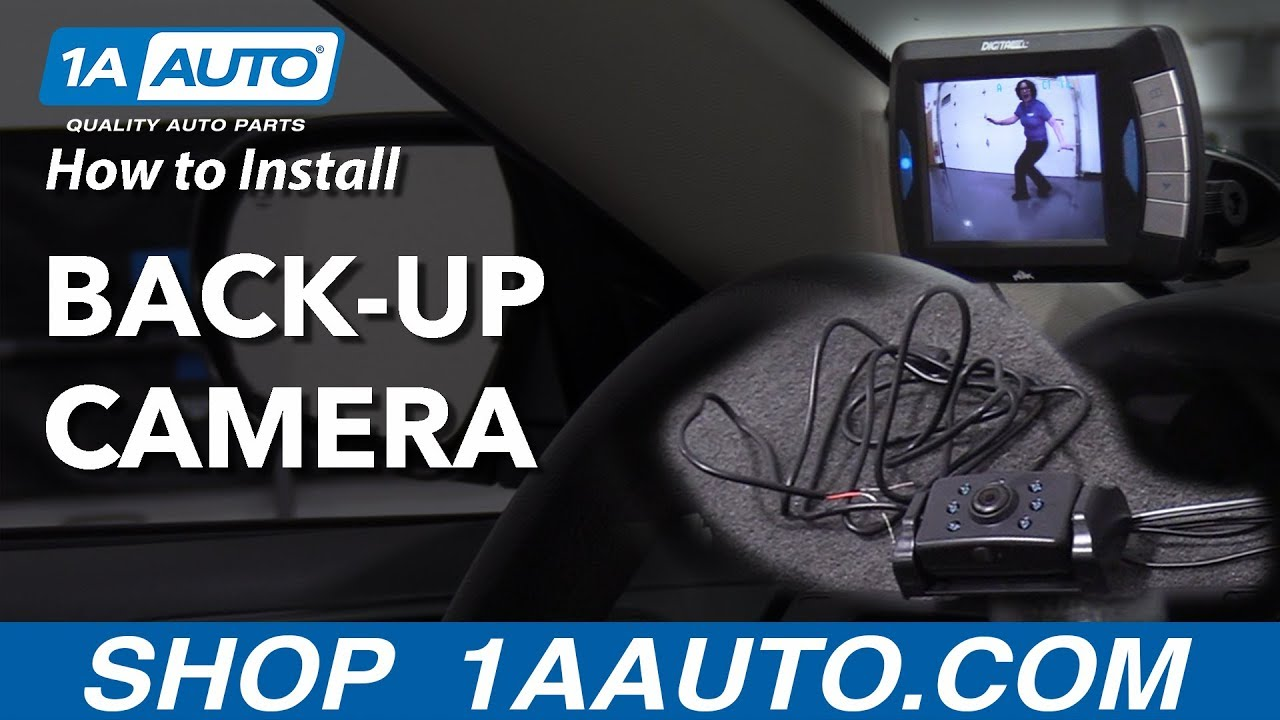 How to Install a Back-Up Camera on Your Car
