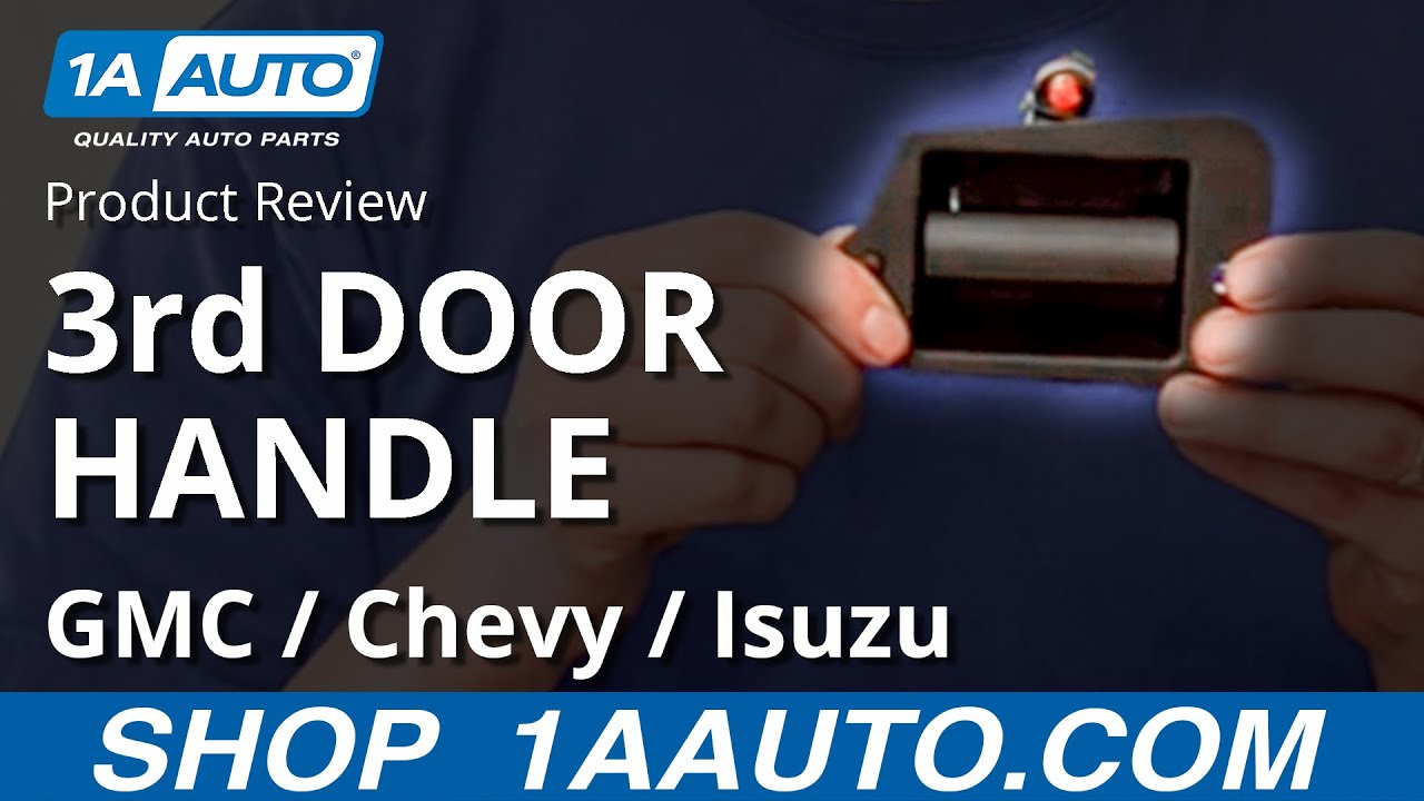 1A Auto Product Video - Third Door Handle DMDHE00001