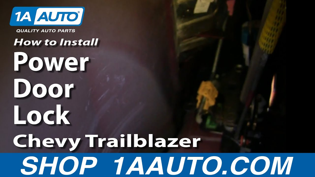 How to Replace Rear Door Lock Actuator 02-09 Chevy Trailblazer