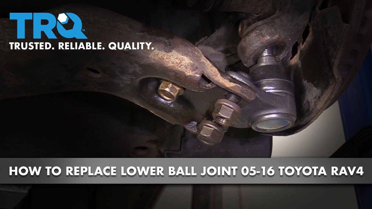 How to Replace Front Lower Ball Joint 05-16 Toyota Rav4
