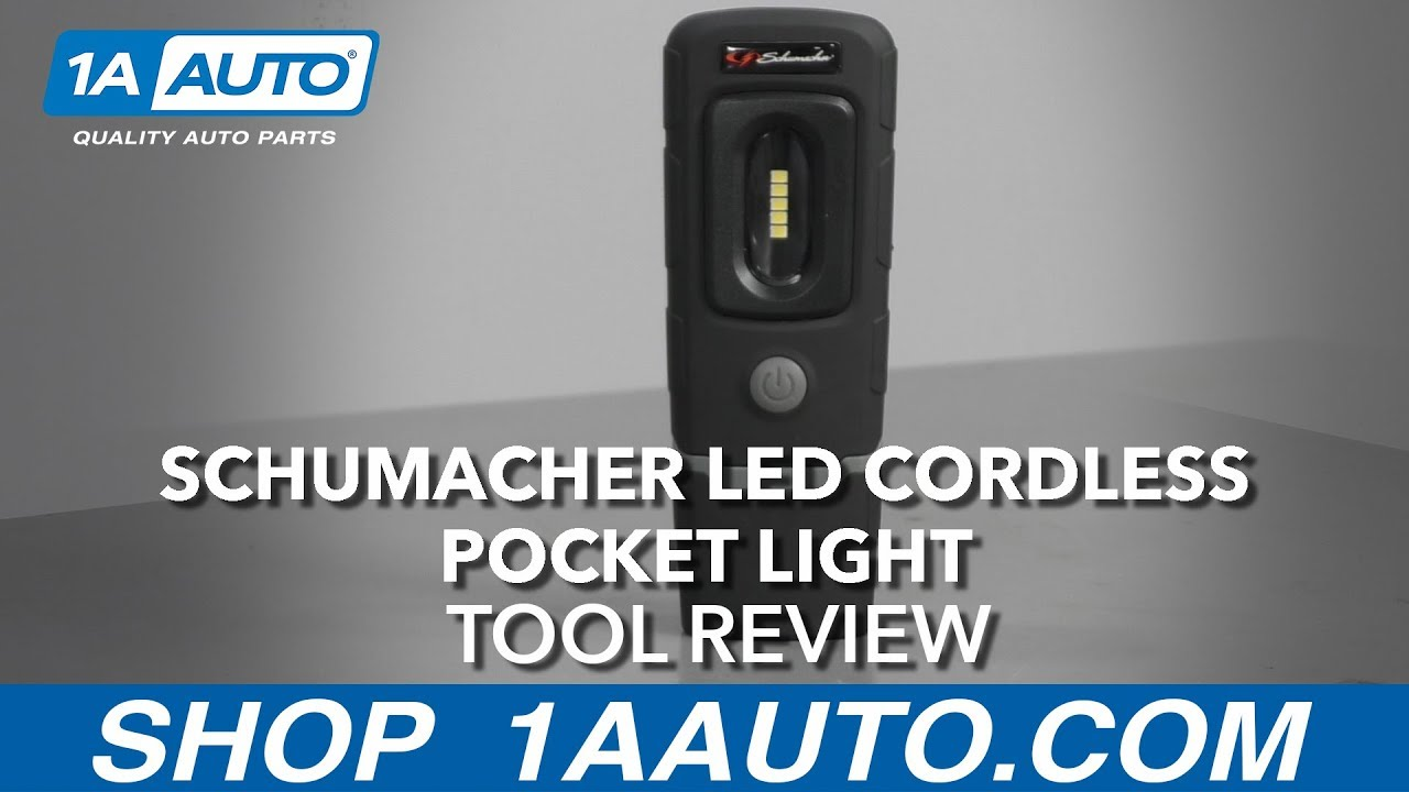 Schumacher LED Cordless Pocket Light - Available at 1AAuto.com