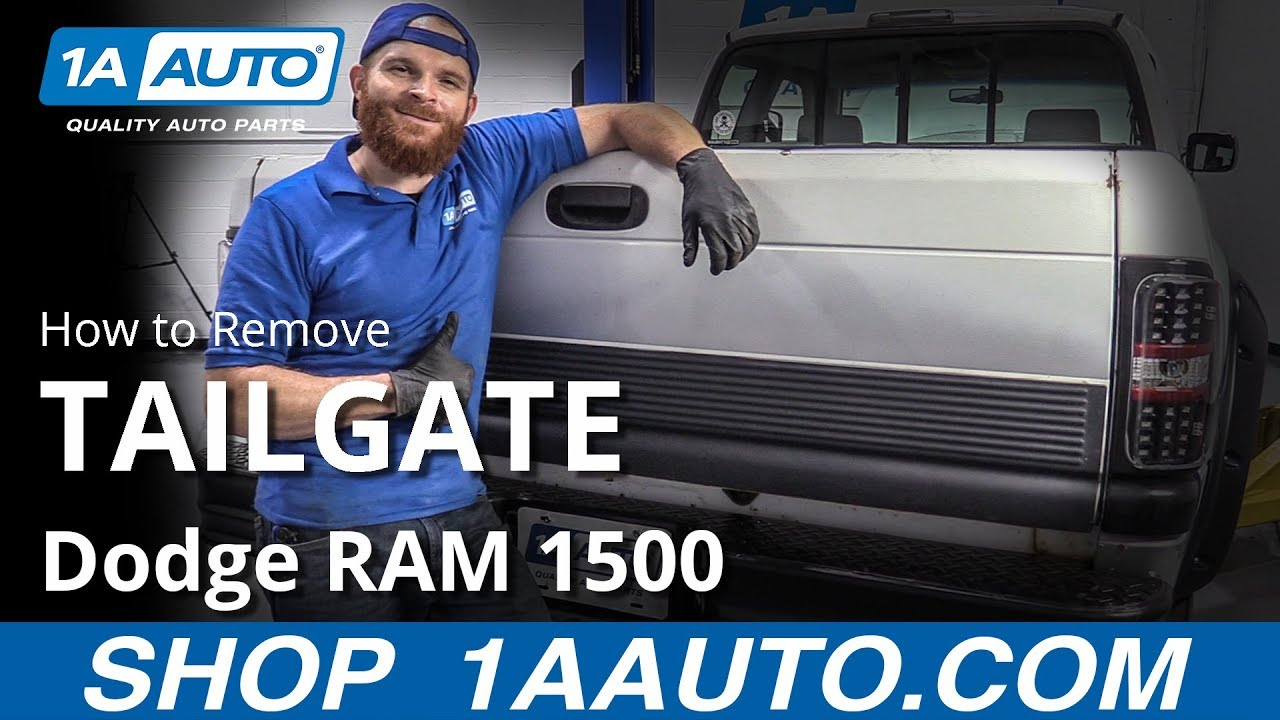 How to Remove Tailgate 94-02 Dodge RAM 1500