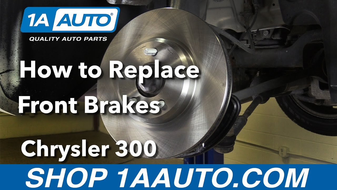 How to Replace Front Brakes 05-10 Chrysler 300