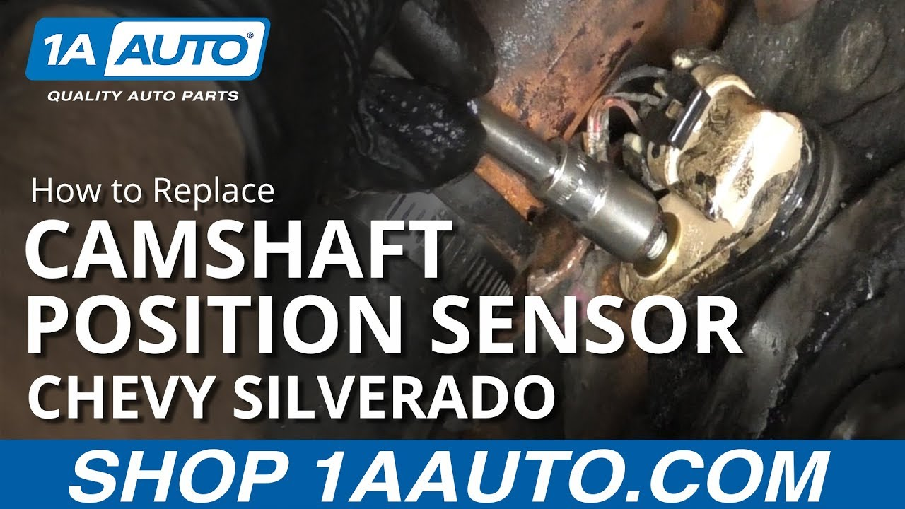 How to Replace Camshaft Position Sensor 07-13 Chevy Silverado