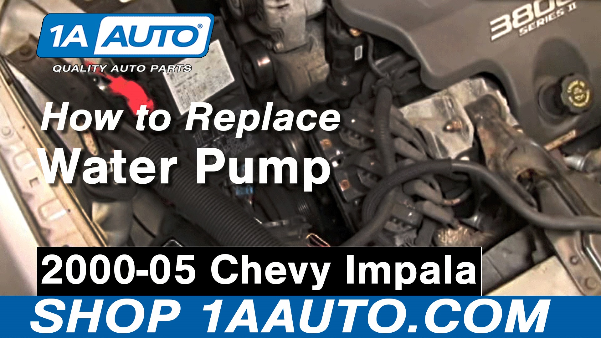 How to Replace Engine Water Pump 00-05 Chevy Impala