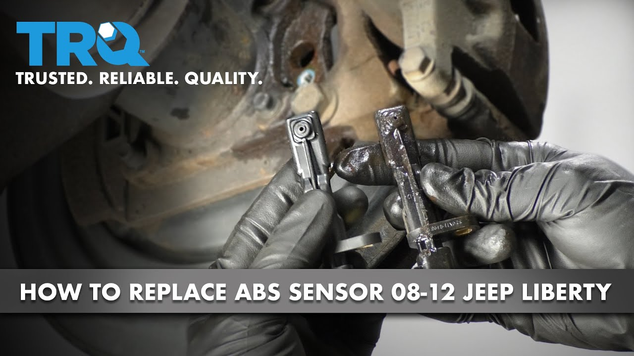 How to Replace Rear ABS Sensor 08-12 Jeep Liberty