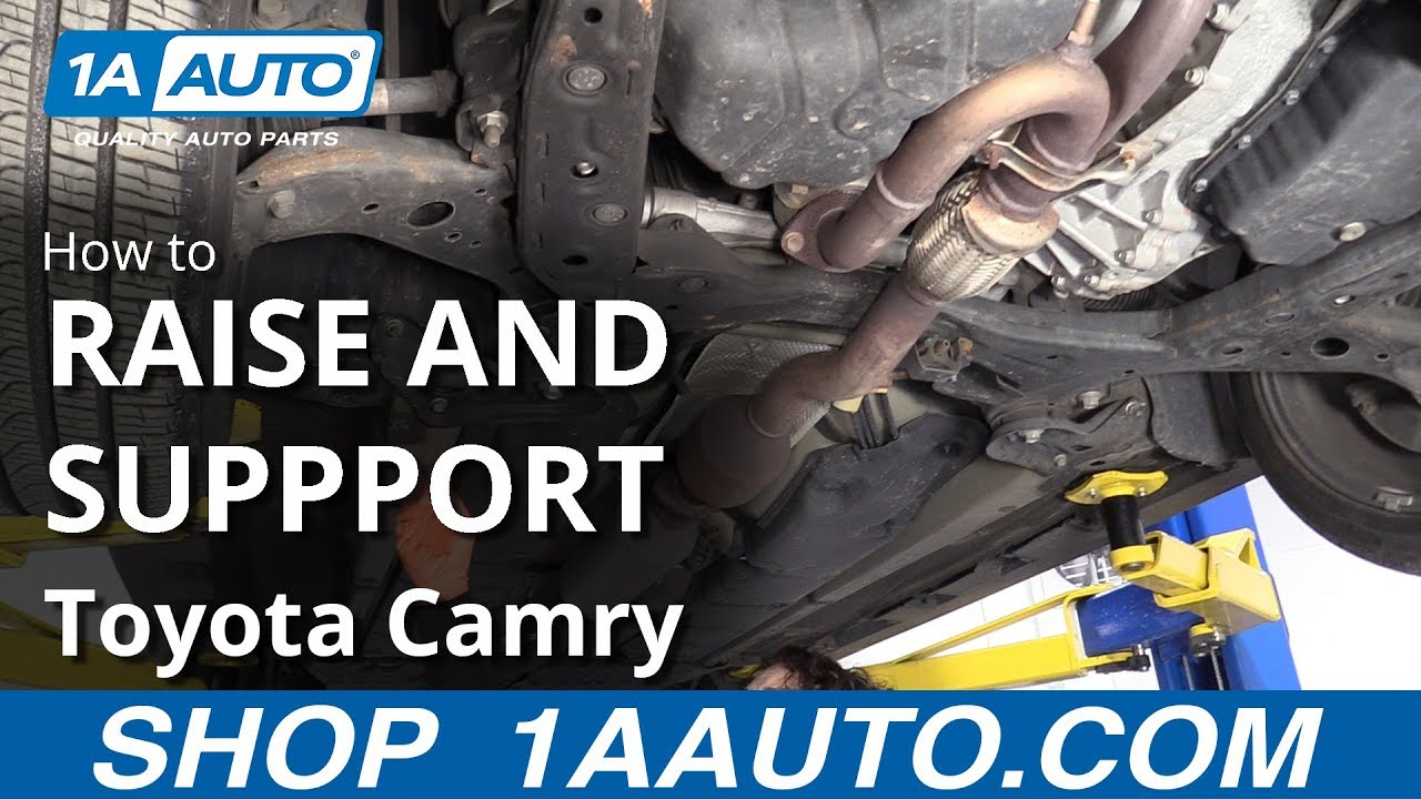 How to Raise and Support 11-17 Toyota Camry