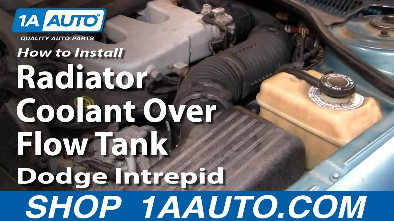 How to Replace Radiator Overflow Bottle 93-97 Dodge Intrepid