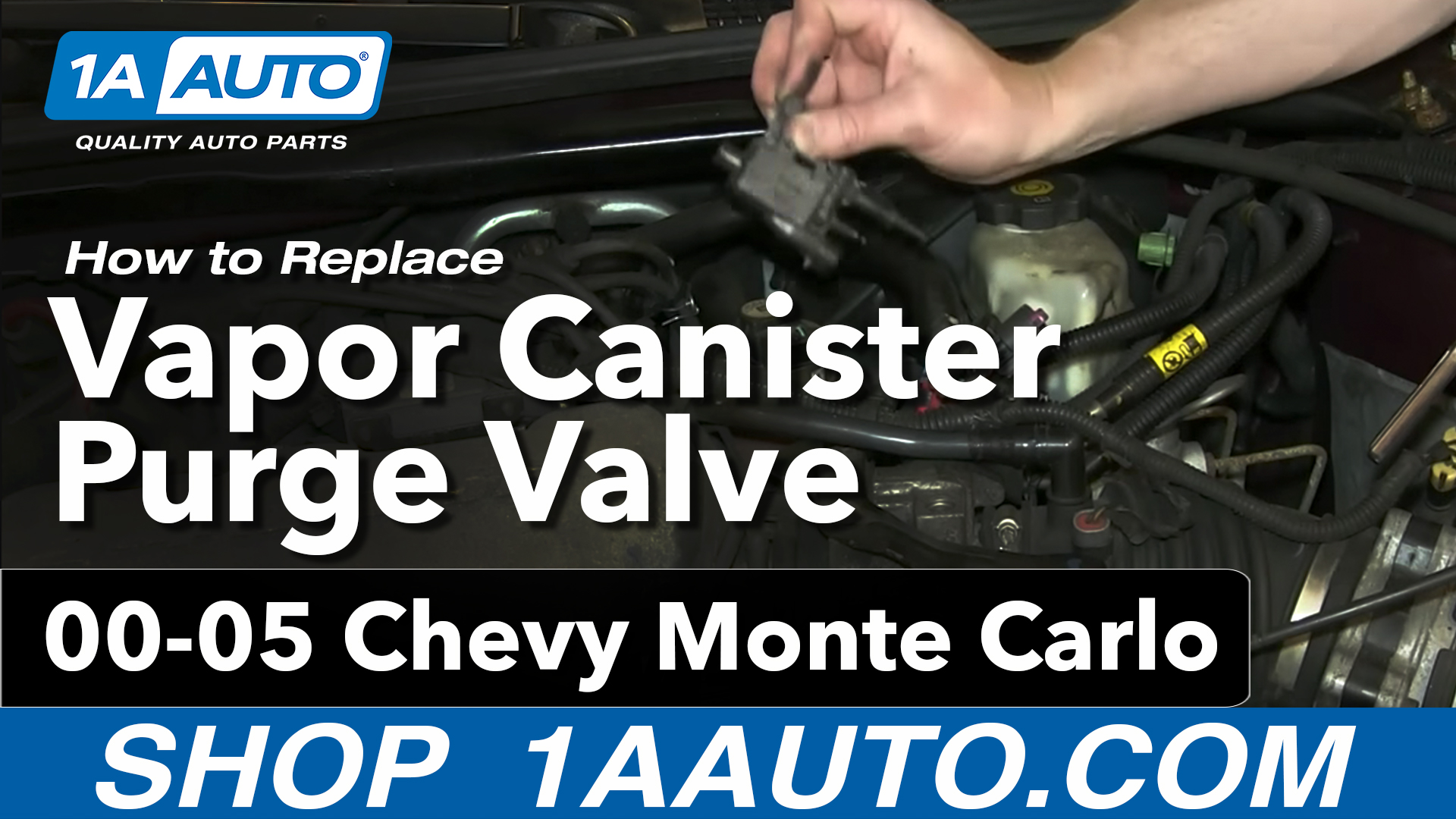 How to Replace Vapor Canister Purge Solenoid 00-05 Chevy Monte Carlo